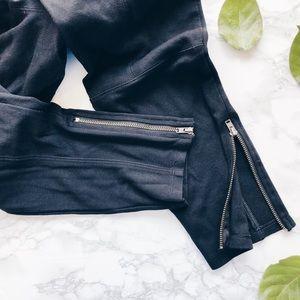 Express leggings // black stretch pants